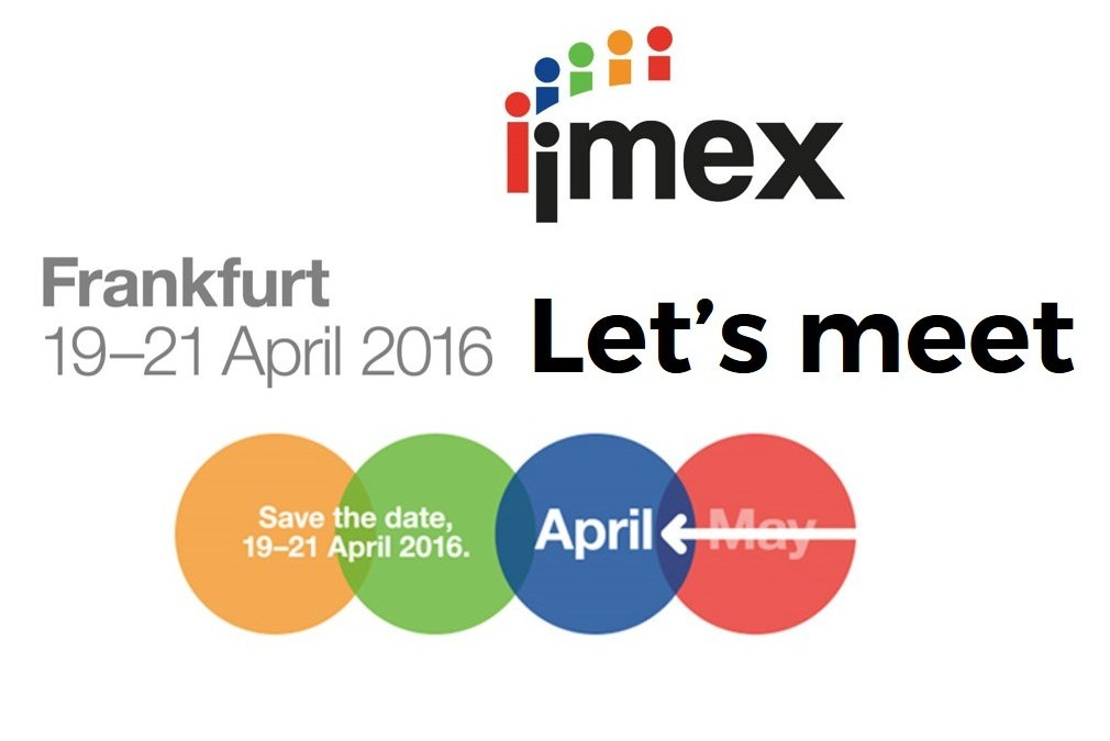 Neokoncepts DMC will be present at IMEX 2016 in Frankfurt